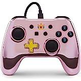 PowerA Nintendo Switch 有线手柄 - Chrome Princess Peach