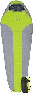 TETON Sports Tracker 5 轻质妈妈睡袋;非常适合徒步、背包和露营;压缩袋