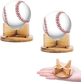 Sfcddtlg 2 件小球支架运动球展示架棒球高尔夫球垒球网球球球弹珠蛋