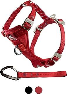 Kurgo Tru-Fit Crash 测试狗狗胸背带 红色 小号