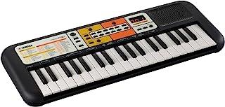 Yamaha PSS-F30 - 便携式轻便儿童键盘,120 种内置语音和 30 首歌曲,带智能和弦功能,有趣的学习工具,黑色