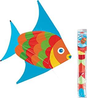 Melissa & Doug 40200 飞鱼风筝 | 3+ | 送给男孩或女孩的礼物