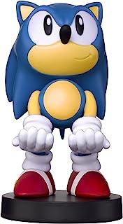 可收藏的 Sonic 刺猬电缆设备支架 - 与 PlayStation 和 Xbox 控制器和所有智能手机 - 经典声波 - 非机器*