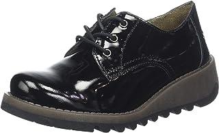 FLY London Simb K 女童粗革皮鞋