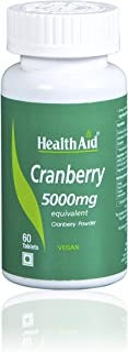 Health Aid 蔓越莓 5000 毫克 - Standard 60 片