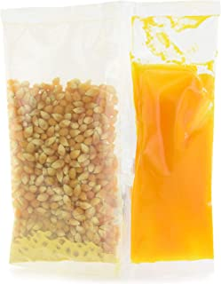 Snappy Popcorn Snap-Paks for Poppers, Yellow Popcorn, Coconut Oil, Buttery Flavored Salt, 10 Pound