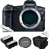 全框无反相机[EOS R]   Vlogging 相机(主体)带 30.3 MP 全框 CMOS 传感器,双像素 CMO…