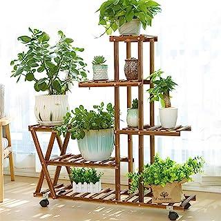 室内室外木植物支架,植物展示多层花架支架,角落客厅阳台庭院院,带 2 个免费园艺工具