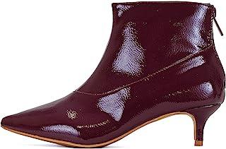 Guilty Shoes 女式经典 - 闭尖头低跟 - 及踝靴