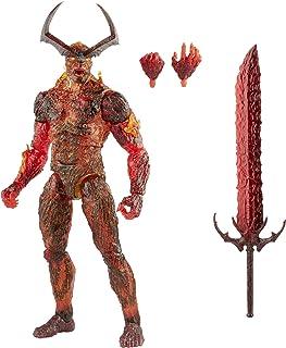 Hasbro 孩之宝 Marvel 漫威传奇系列 15 厘米 大号 Surtur 动作人偶,无限传奇人物,高级设计和 3 个配件