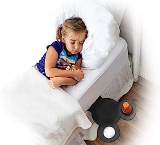 D3 Products 床架 - Disney Decor 米老鼠剪影主题架 - 便携式床头柜架,可放在床和卧室里放置零食和饮料(Mickey Silhouette)