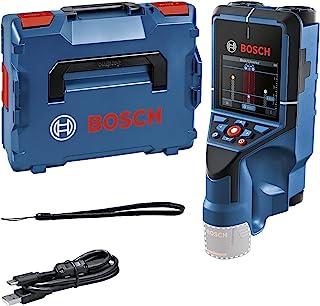 Bosch 博世 专业 12V 墙壁扫描仪 D-tect 200 C(不含电池和充电器,检测(非) 讯号线、金属、塑料管、木钉和空腔,USB-C™电缆,L-BOXX)