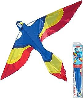 Melissa & Doug 40219彩虹鹦鹉风筝 | 3+ | 送给男孩或女孩的礼物
