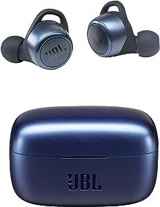 JBL LIVE300TWS 无线耳机 应用/IPX5/蓝牙/触摸操作/支持语音助理功能 /蓝色【国内正规品/1年质保】