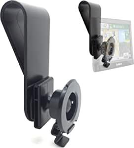 LycoGear 太阳能遮阳车夹支架适用于 Garmin Drive DriveSmart 50 51 52 60 61 62 63 Nuvi 55 56 57 57LM 57LMT 58 58LM 65 66 67 68 2699 2689 2639 2597 2558 2557 LM LMT LMTHD GPS