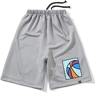 SPALDING(SPALDING) 篮球 青少年训练裤 霓虹球 SJP201740 灰色 130尺寸 篮子 篮子