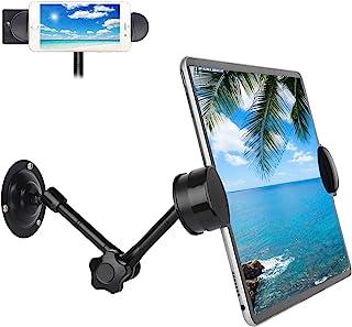 UYODM 平板电脑壁挂支架魔术臂和夹子,兼容 iPhone、iPad、Galaxy Tabs、Google Nexus7/11、Kindle Fire HD、GPS Garmin RV890、开关、更多 3.5-12.9 英寸平板电脑和手机