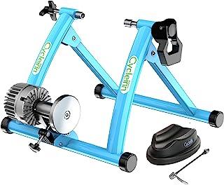 Cycleinn 流体自行车训练器支架 室内钢自行车运动支架 带流体飞轮 降噪