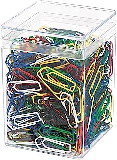 Wedo 90050099 回形针(金属 26 毫米 喷漆) 500 件 颜色分类