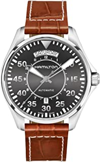 [HAMILTON]HAMILTON 手表 卡其色 机械式自动上弦 H64615585 男士 【正规进口商品】