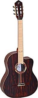 ORTEGA 限量版 25 周年纪念尼龙弦吉他,带截角 6 弦 - 光泽表面 (RCE2019-25TH)