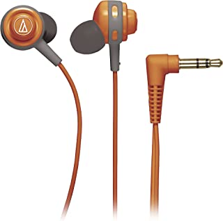 Audio Technica ATHCOR150OR In-Ear Headphones, Orange