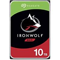 SEAGATE 希捷 IronWolf 10TB NAS 内置硬盘HDD – CMR 3.5英寸(约8.89厘米)SAT…