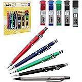 Mr. Pen 自动铅笔套装 带笔芯和橡皮擦 5 种尺寸 - 0.3、0.5、0.7、0.9 和 2 毫米 起草 素描…