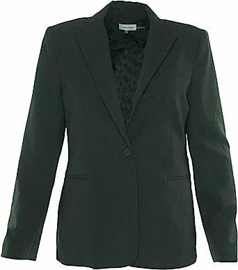 Calvin Klein 女士 单扣西装外套