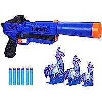 Hasbro 孩之宝 Nerf 热火 Fortnite SP-R & Llama 靶子——包括 Sp-R 玩具枪,3个和…
