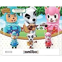 Nintendo 任天堂 动物穿越系列 动物之森:Amiibo节日手办3件装