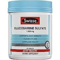 SWISSE Ultiboost硫酸盐葡萄糖胺 1500毫克,180片
