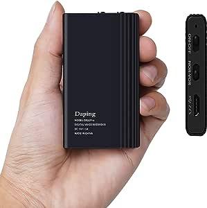 32GB 容量錄音機數字錄音機,350 小時連續錄音,高品質一鍵錄音語音檢測,OTG 功能