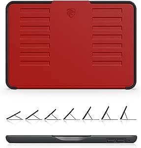 ZUGU 保护套 - iPad Mini 5 & 4 Muse 保护套 - 5 英尺防摔,7 角磁性支架ZG-M-MIN5R