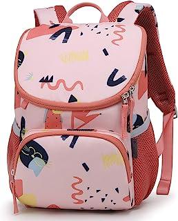 Mountaintop 幼儿背包,适合儿童男孩女孩,日托幼儿园幼儿园儿童包,带可拆卸胸带