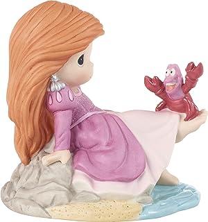 Precious Moments 201066 Disney 展示 The Little Mermaid 您将从其余的爱丽儿小牛肉瓷雕像中脱颖而出,均码,多色