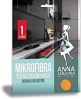 ANNA ZARADNA ST-AZ-012794 超细纤维布防尘布 / 1 件颜色:橙色/防尘/用于家用和电视/欧盟制造