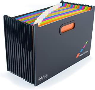 Rapesco SupaFile Plus A4+ 桌面可扩展文件收纳器(超大尺寸适合文件夹),13 部分