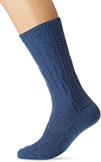 Lusana 男士混色夏季袜子传统袜