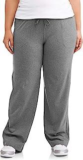 Athletic Works 女士加大码 Dri-More Core 宽松健身裤