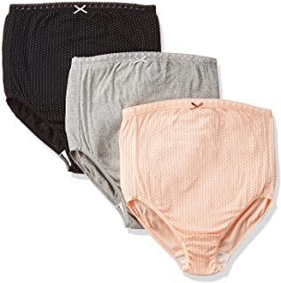 Rosemadame 柔软棉质材料的*妈妈也放心【3件装】孕妇内裤 颜色图案随机 607-0331-20 颜色随机 LL-3L