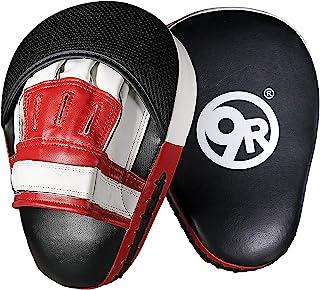 Sunny Days Entertainment 9 轮健身聚焦拳击手套男女适用   拳击打击垫适用于家庭训练 - 红色和黑色
