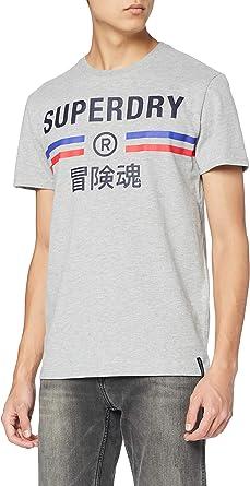 Superdry 极度干燥 男士复古运动 T 恤