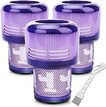 LhhTing 3 件装过滤器替换件 适用于 Dyson 戴森 V11 吸尘器、V11 扭矩驱动、V11 动物无绳真空吸尘器、Hepa 过滤器零件编号 970013-02