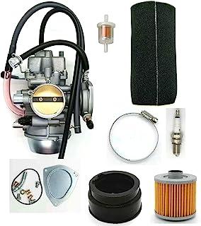 MDAIRC YFM660 化油器碳水化合物替换件 适用于 2002-2008 雅马哈灰莉 YFM660 660 4x4