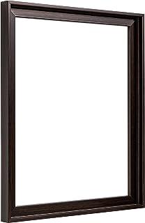 Pixy Canvas 27.94 x 35.56 厘米帆布绘画浮框 | 拉伸帆布和帆布面板的浮框 | 1-3/8 英寸厚 3/4 英寸深帆布(深胡桃木,27.94 x 35.56 厘米)