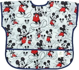 Bumkins Disney 婴儿防水青少年围嘴 Mickey Classic 1-3 岁