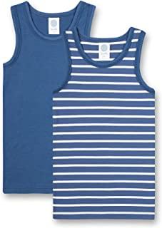 Sanetta 男童 Unterhemd Im Doppelpack Blau 打底上衣
