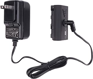 Fotga Nanguan 交流电源适配器线 + NP-F 假电池替换件 NP-F550 NP-F570 NP-F750 NP-F960 NP-F970 电池适用于视频 LED 照相机现场监视器