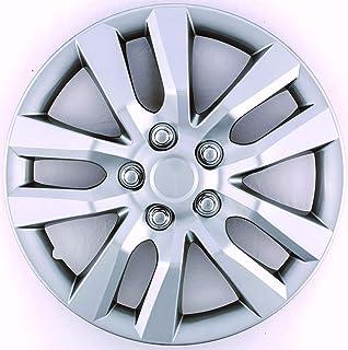 驱动配件 ABS 塑料售后车轮盖 银色 16 英寸